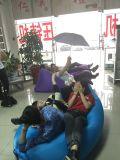 高品質の膨脹可能な折りたたみの不精な寝袋の空気ソファー