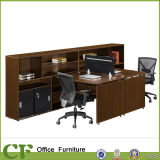 Escritório Workstation com Side Filing Cabinet