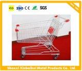 Einkaufen-Laufkatze-Supermarkt-Karren-Handkarre mit hohen Quility Rädern