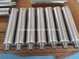 10/20/30/40micron vaglio filtrante del collegare del cuneo della scanalatura 1inch per il bitume del filtrante