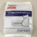 La basura aglutinación rápida natural del gato bentonita