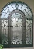 最新の鉄の前部安全単一のドアデザイン