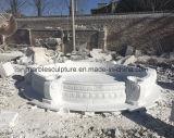 백색 대리석 돌 조각품 샘 (SY-F062)