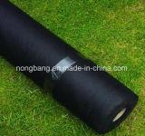 Material tejido plástico del control de Weed