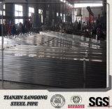 Pipe Pré-Galvanisée rectangulaire carrée soudée par ERW de la Chine