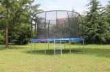 Nuevo estilo lindo lindo Deqing suministros fitness plegable gimnasio saltar mini trampolín red de seguridad