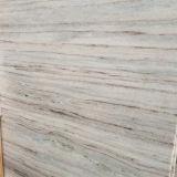 De goedkope Wood-Grain van de Prijs Tegel van de Plak, Wit Marmer voor Muur