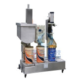 CappingのDaily ChemicalのためのAnti-Explosion Semi-Automatic 30L PaintかCoating Filling Machine