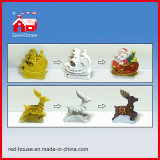 Милое Baby с Wings Glass Water Globe Printed Resin Base