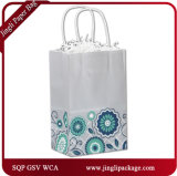 Мешки бумажных мешков Brown Kraft хозяйственных сумок фабрики покупателей свободно духа сразу бумажные