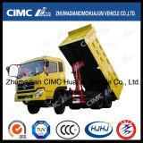 Autocarro con cassone ribaltabile di sollevamento centrale di Dongfeng 6*4