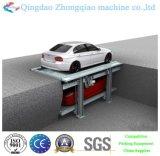 簡単な持ち上がる車の駐車システム2つの層のピット