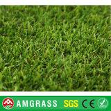 Hierba artificial del césped de color de la hierba del césped del jardín artificial del campo