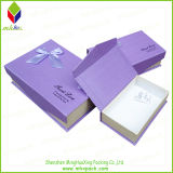 Het elegante Vouwende Verpakkende Vakje van de Juwelen van de Gift van het Document