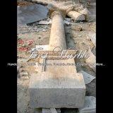 De antieke Kolom van de Travertijn voor Decoratie mcol-320 van het Huis