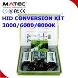 luz ESCONDIDA farol do xénon do jogo da conversão de 100%AC 12V/35W H1 com reator