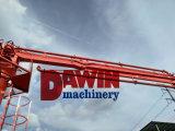 Placer de grue à tour avec la hauteur de 8m et bras de 19m en vente