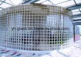 Кирпичи стеклянного блока высокого качества для украшают стену, плитку стены