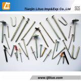 Pregos de terminação Polished/galvanizados com preço barato