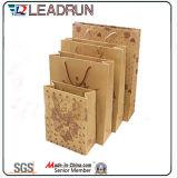 クラフトプリント紙袋のショッピングギフトのアートペーパーのキャリアのSeasonerの大豆の醤油の唐辛子ソースびん(a70)のための装飾的な宝石類のパッキング袋