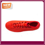 Chaussures oranges du football du football pour les hommes
