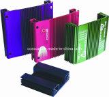 Extrusão de alumínio / alumínio para o gabinete do amplificador de carro com certificação ISO9001