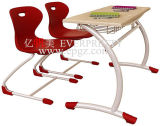 나무로 되는 Joint Student Double Desk 및 Chair 교실 Set