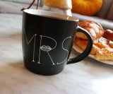 Mr and Mrs Coffee Mugs Set Ceramic Gift for Wedding