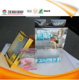Transparentes Clear Plastic Folding Box PVC mit Full Color Printing