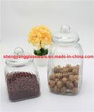 Стеклянный опарник /Kichenware/Storage опарника хранения еды с стеклянной крышкой