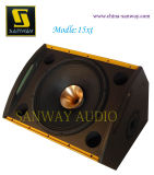 Alta qualidade Powered Speaker, Stage Monitor Professional Loudspeaker, sistema de som de PRO Audio (15XT)