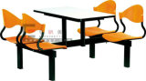 Banco Wooden Dining Table, Dining Table per School Canteen