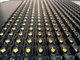 Placa de mensagem amarela/ambarina ao ar livre do diodo emissor de luz do módulo do diodo emissor de luz