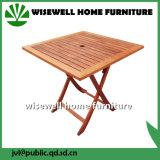 Квадратная деревянная складная таблица для сада