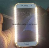 Новая сила батареи Selfie прибытия освещает вверх проблескивая случай крышки клетки/мобильного телефона галактики S5 S6 S7 Samsung аргументы за телефона СИД