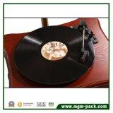 Venta al por mayor clásica madera fonógrafo con cuerno