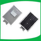 Farola 5m poste de acero integrado 8W LED Solar