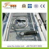 depósito de gasolina Semitrailer de 45000L 3axle Carbon Steel