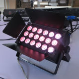 Lámpara profesional que amortigua Rgbawuv LED para la boda Disco Club