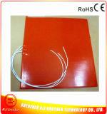 Calefator do silicone da esteira do aquecimento da borracha de silicone do uso da impressora de Manufacutre 3D