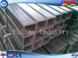 Tubo rectangular de la INMERSIÓN caliente/cuadrado de acero galvanizado (FLM-RM-023)