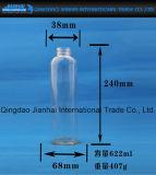 Bottiglia di vetro trasparente Stretto-Mouthed per spremuta