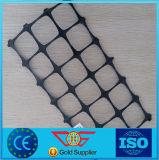 30/30kn Geogrid plástico/Polypropylene Geogrid com tamanho de engranzamento 65mm*65mm