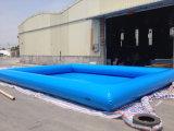 Легкий комплект над земным раздувным плавательным бассеином с насосом