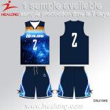 Баскетбол износа одежды Джерси форм Sportswear печати цифров высокого качества