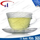 Grad-Großverkauf-Feuerstein-Glas-Tee-Set SGS-220ml (CHM8468)