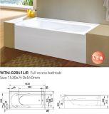 Tina de baño integrada bañera de la falda del frente del delantal del borde del azulejo de Cupc