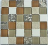 Nuovo mosaico materiale di vetro per la decorazione natale della parete