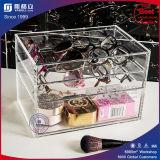 Surtidor de China Más vendido Papel Acrílico maquillaje Caja de almacenamiento