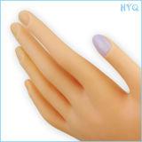 Clavar la mano estándar profesional de la práctica del amaestrador del clavo de la mano de la práctica para la mano falsa plástica cíclica de la buena calidad del entrenamiento
